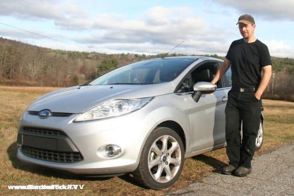 Eric and the Ford Fiesta, part of a Gardenfork - Ford marketing campaign