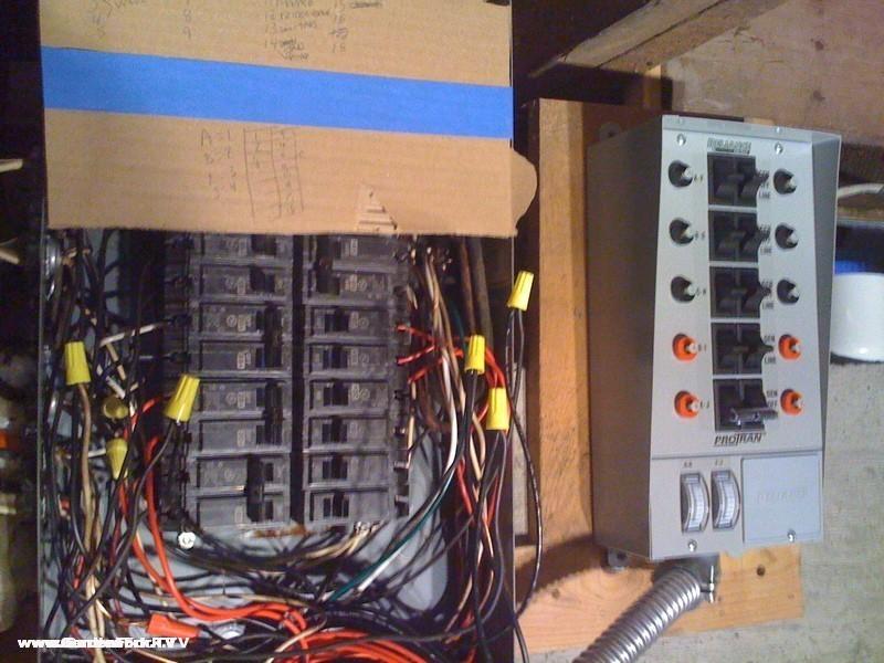 wiring generator to breaker box  wiring  free engine image