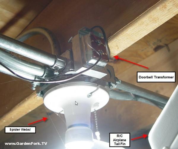 Replaced Doorbell - GardenFork - Eclectic DIYGardenFork.TV