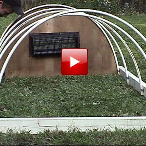 Cold Frame Hoop House 1 Diy Gf Video Gardenfork Tv