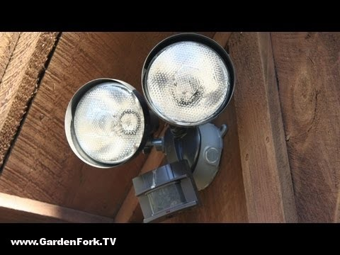 To install an outdoor motion sensor light gardenfork diy to install an outdoor motion sensor light gardenfork diy living gardenfork aloadofball Gallery