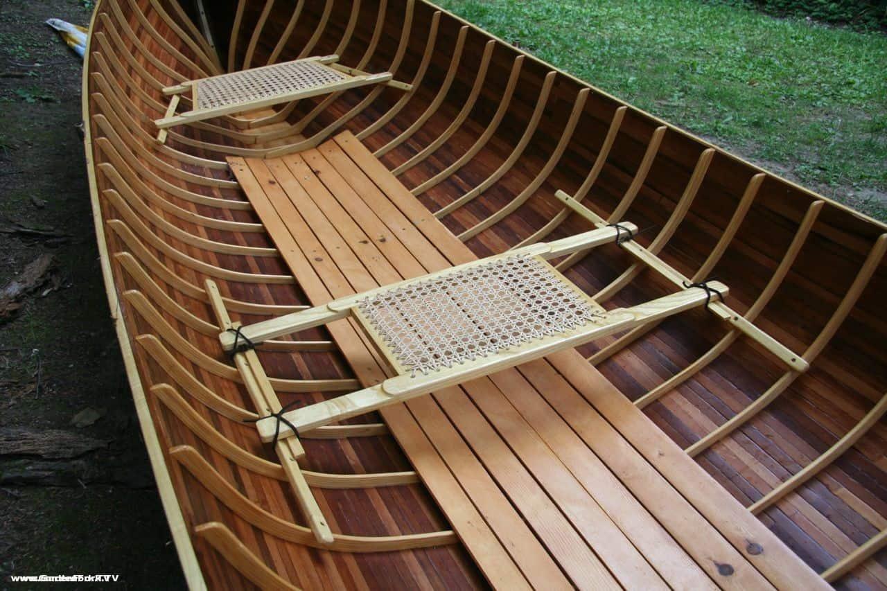Adirondack Guide Boat Handmade From Wooden Boat Plans Gardenforktv