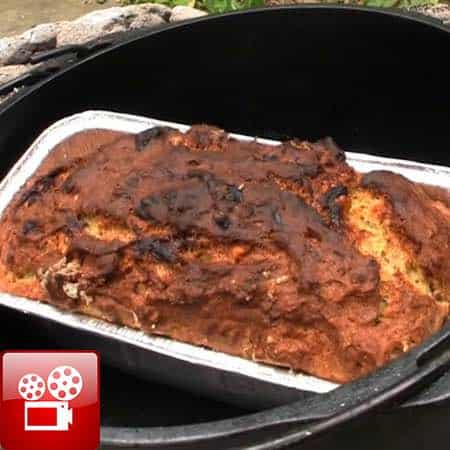 dutch oven banana bread recipe