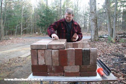 Brick pizza oven video plans gf tv gardenfork tv - How to build an outdoor brick oven ...