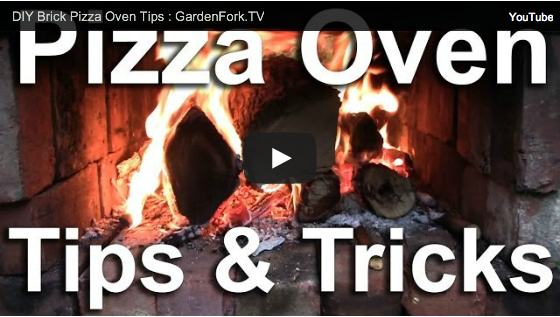 DIY pizza oven video