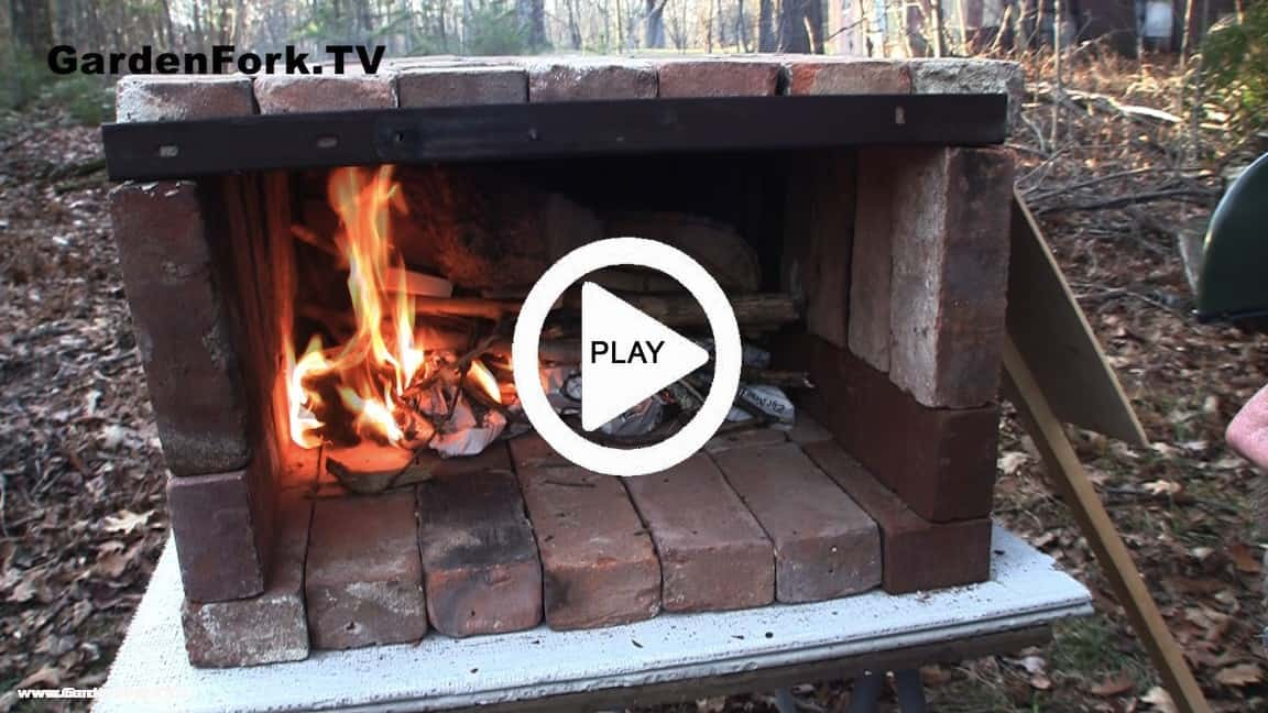Brick Pizza Oven Video & Plans GF TV - GardenFork.TV