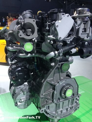 Ford Eco Boost 1.0 L engine