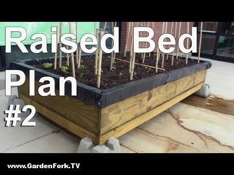Raised Bed Garden Plans For A Self Contained Garden : GF Video ...