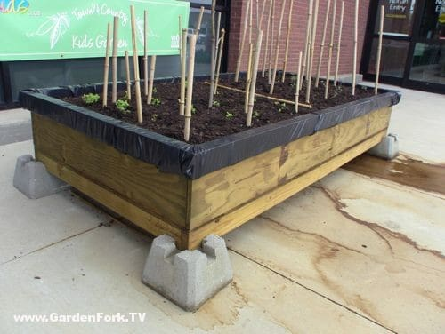 Raised Bed Garden Plans For A Self Contained Garden GF
