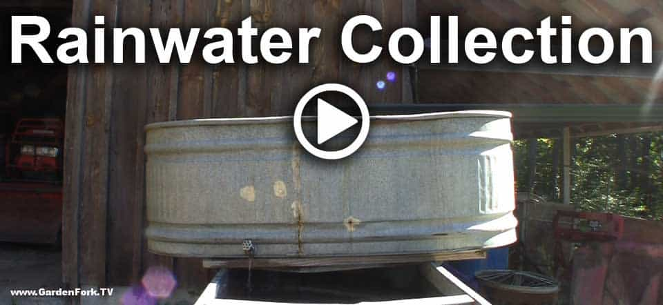Rainwater Collection With Recycled Materials Gf Video
