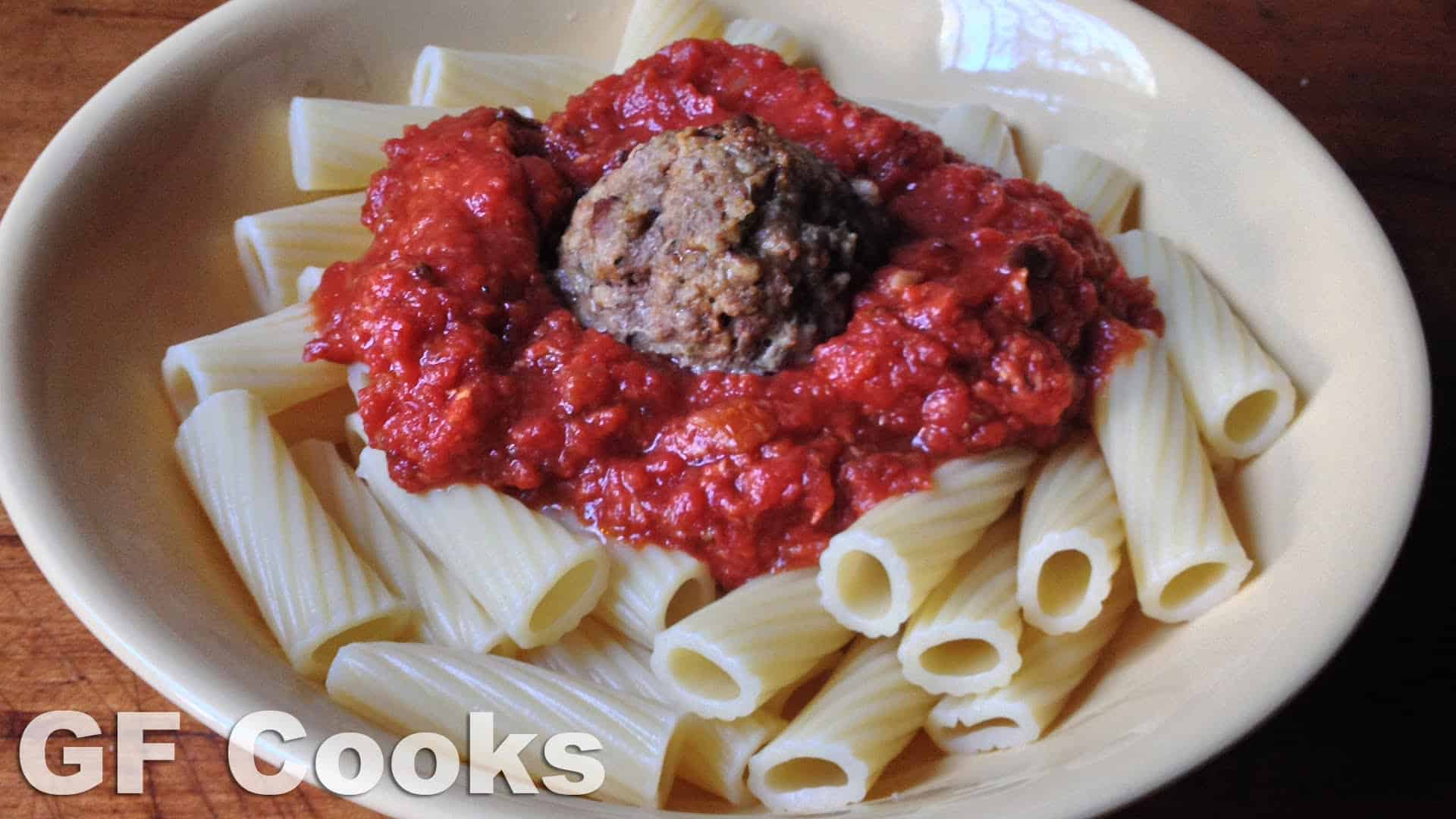 how to make spaghetti meatballs recipe