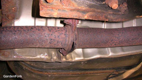 Exhaust Pipe repair