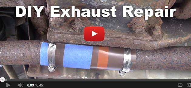 How To Repair An Exhaust Leak On A Car