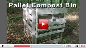 pallet compost bin plans photos