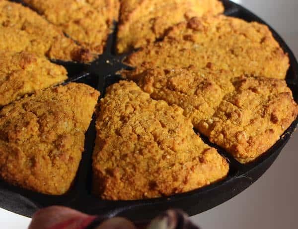 Pumpkin Cornbread Recipe - GF Cooks Video - GardenFork.TV - DIY Living