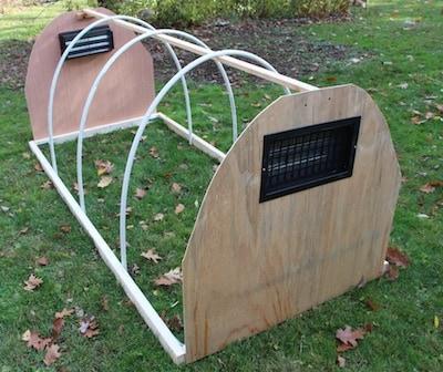 Pvc Cold Frame Hoop House 3 Diy Gf Video Gardenfork