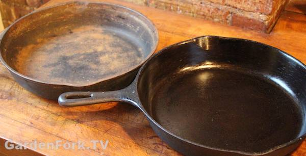 Best cast iron seasoning instructions