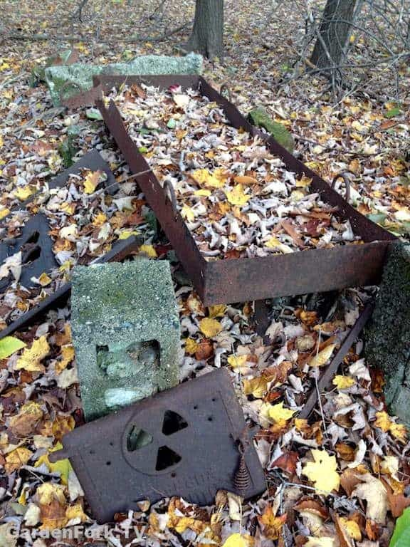 Outdoor Maple Syrup Evaporator In Our Yard - GardenFork.TV ...