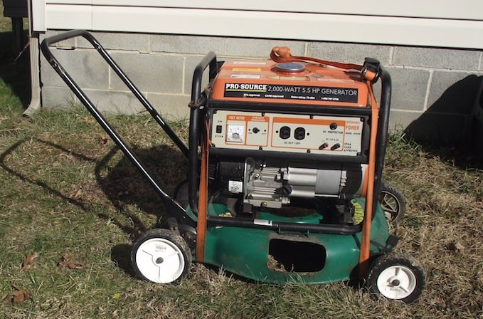 Diy Portable Generator Cart Gardenfork Tv Diy Living