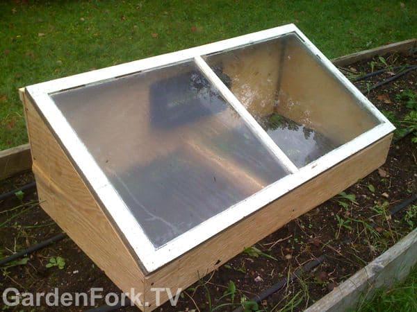 Cheap cold frame how to diy gf video gardenfork tv for Cheap a frames