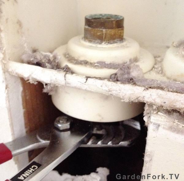 washing machine valve repair