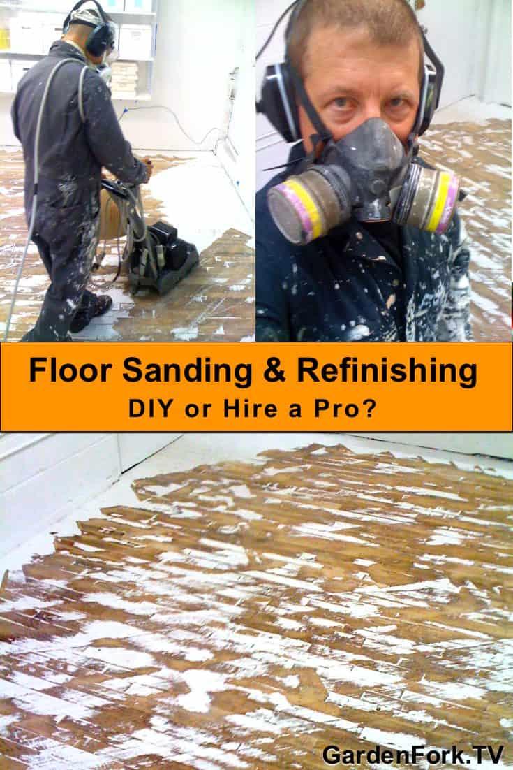 floor sanding pin