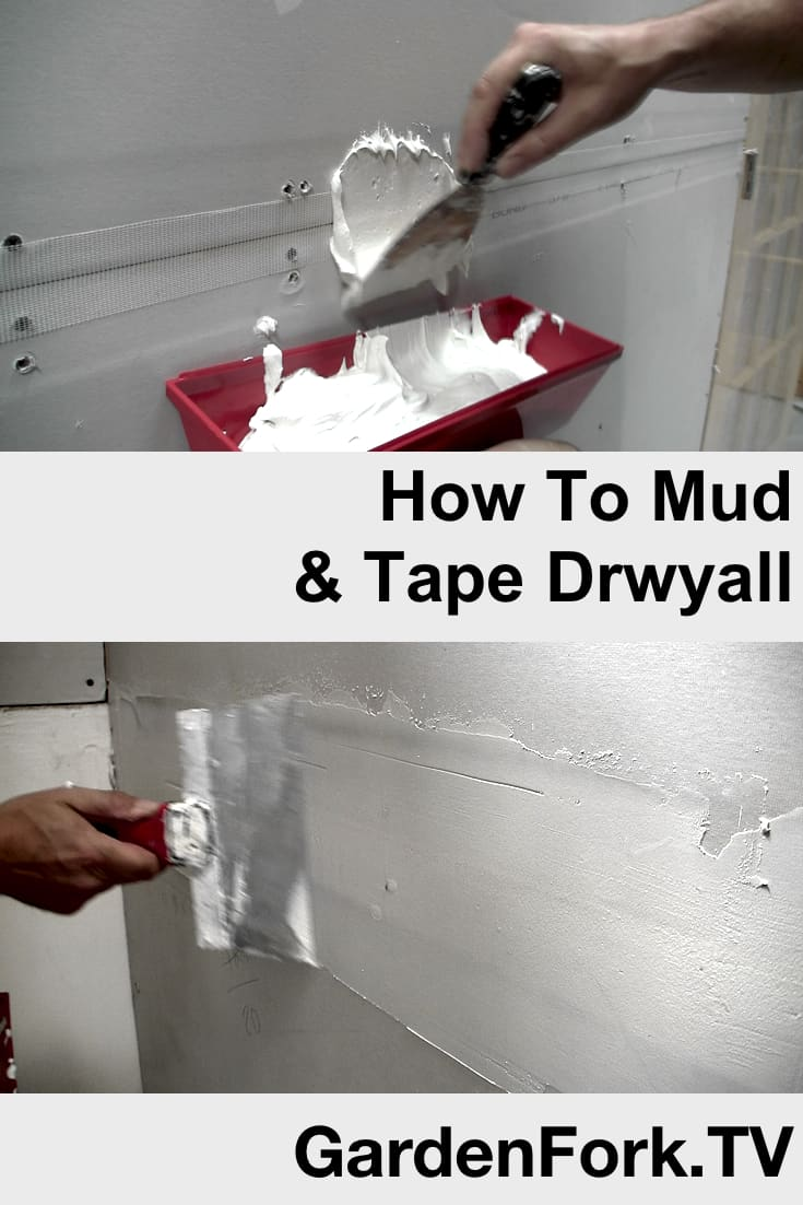 How To Mud And Tape Sheetrock Video