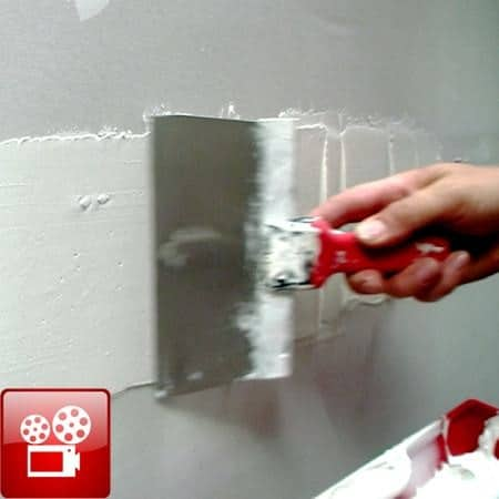 tape mud drywall feature