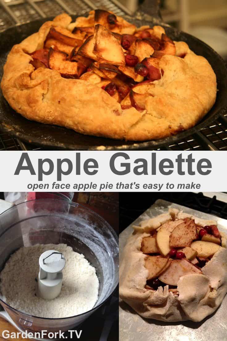 Cheater Apple Pie, aka Apple Galette Recipe