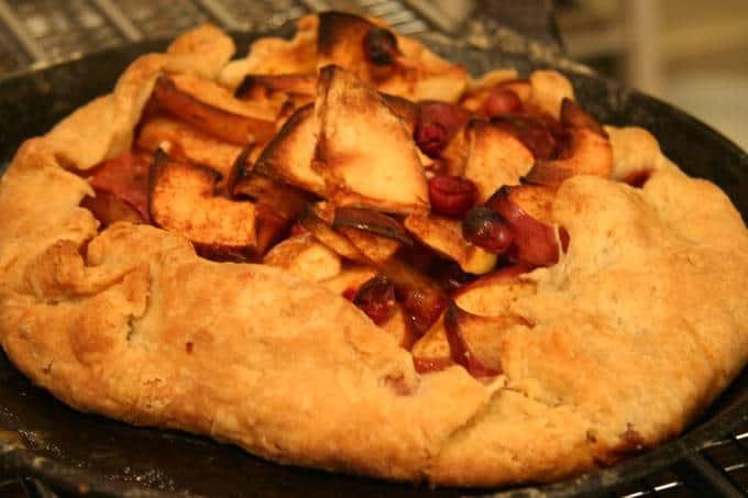 Cheater apple pie recipe, aka The Apple Galette