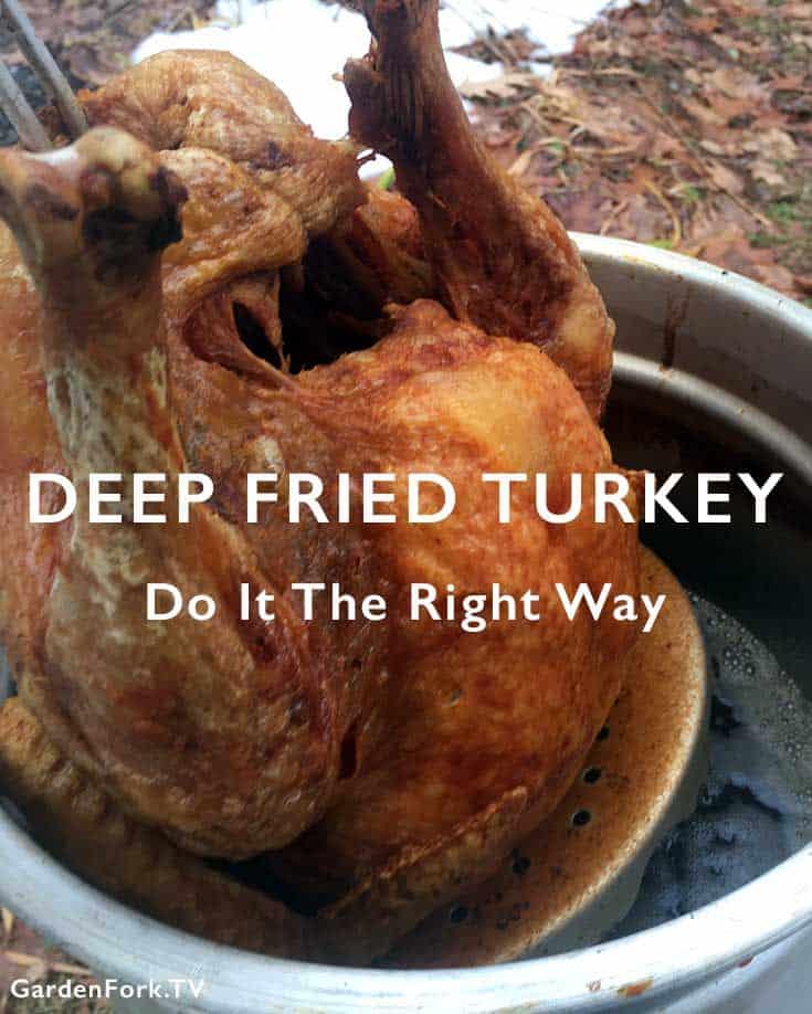 Deep Fried Turkey Recipe