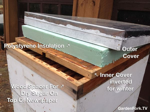 Insulated Inner Cover Beekeeping