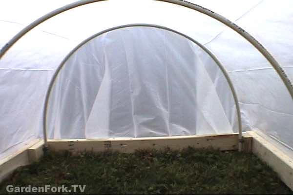 mini greenhouse build