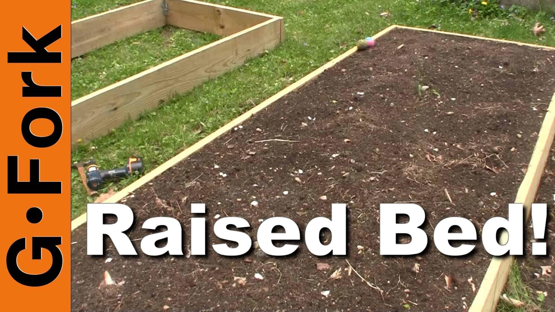 How To Build A Raised Garden Bed - GF Video - GardenFork - Eclectic DIY