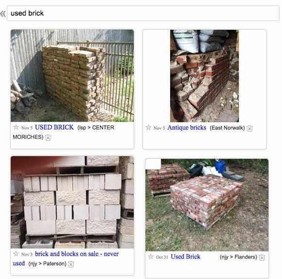 find-used-brick