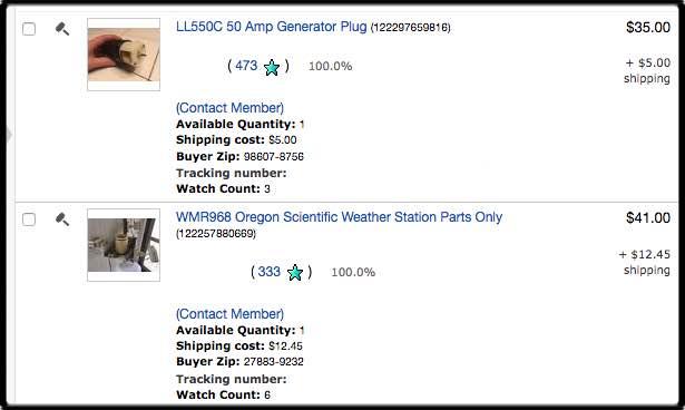 Decluttering On Ebay