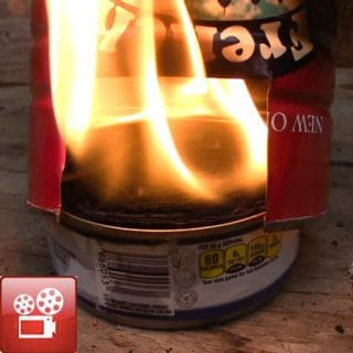 Tin Can Camp Stove Buddy Burner