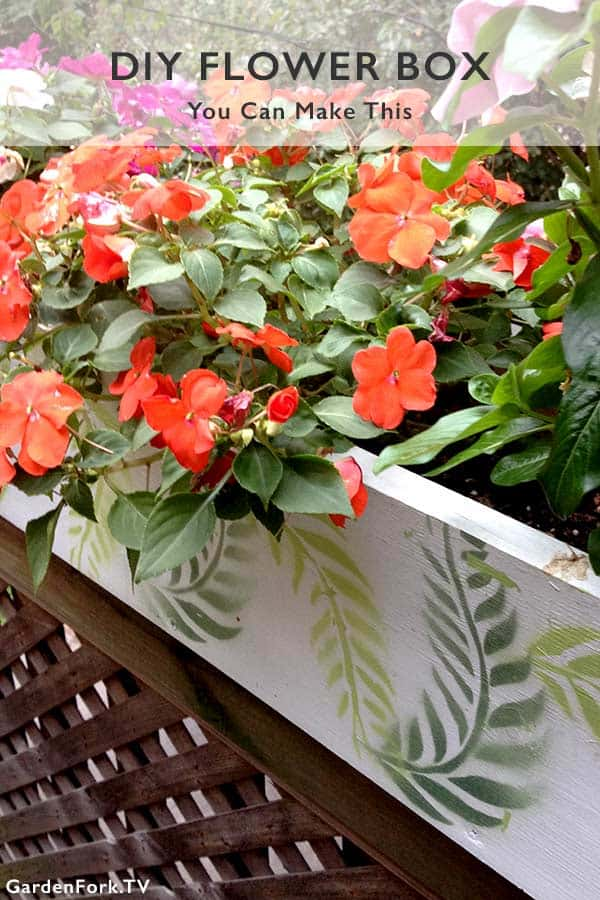 Easy Flower Box