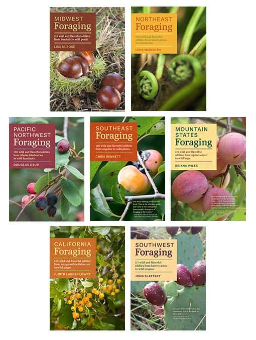 wild food foraging books