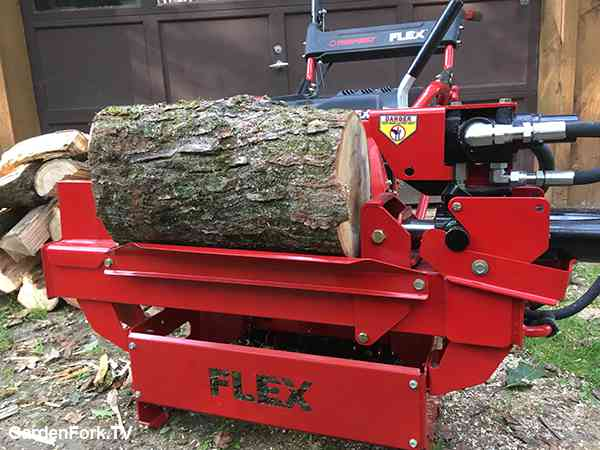 Troy Bilt Flex log splitter