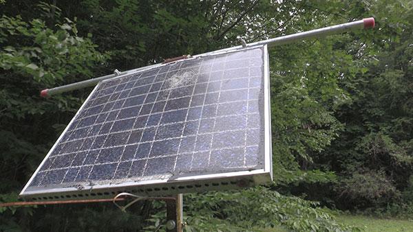 Cheap solar panel system
