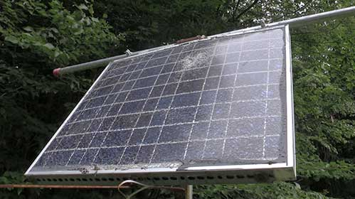 install a simple solar panel system