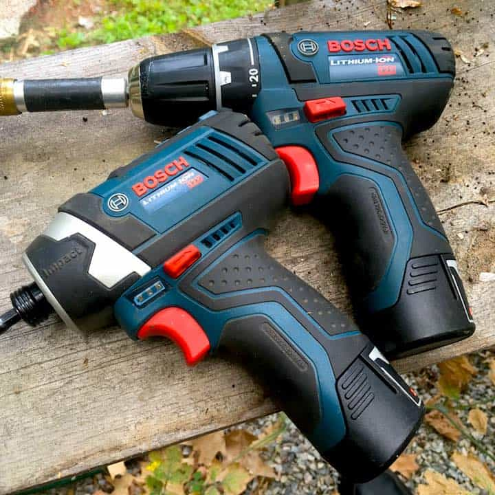 cordless drill and impact driver