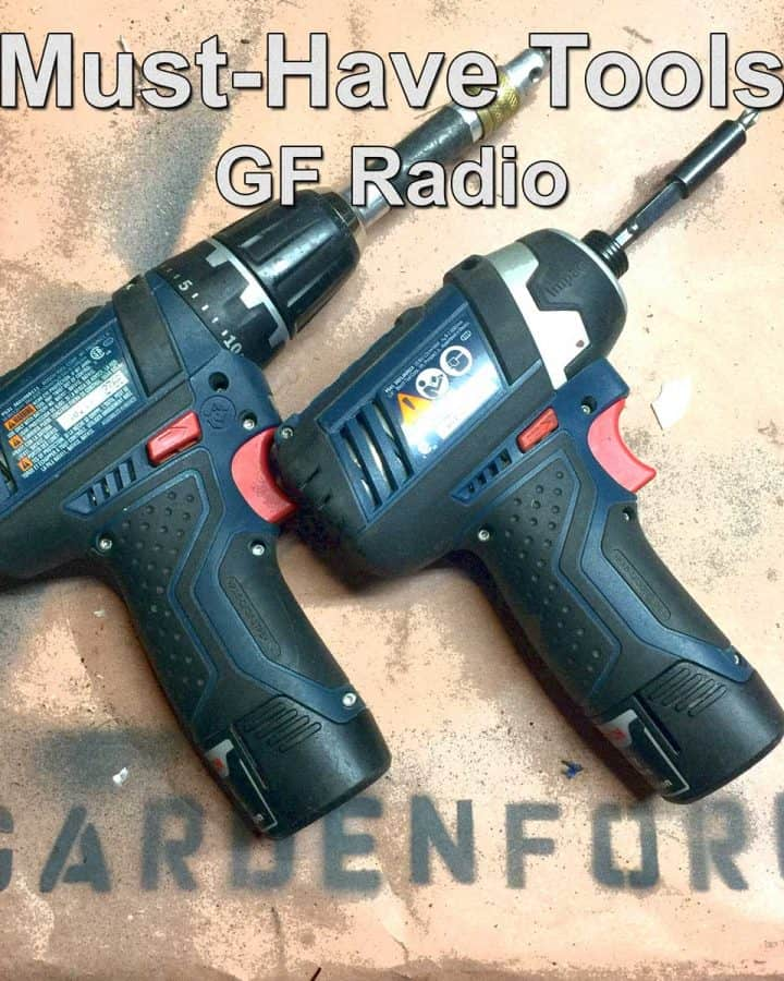 cordless drill and driver
